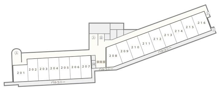 フロアーマップ2階